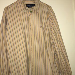 Men's Ralph Lauren casual dress shirt XL